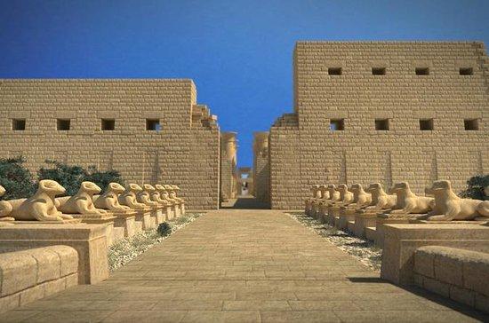 Über den Tag von Kairo nach Luxor mit...