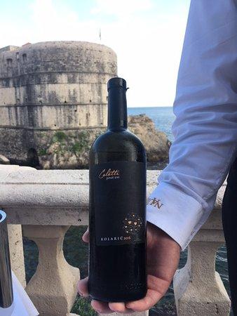 Off menu wine pairing