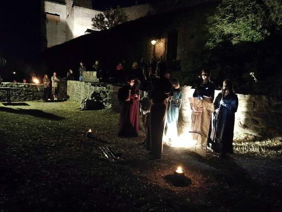 Státní hrad Lipnice: Noční prohlídka hradu Lipnice