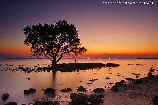 Kupang, إندونيسيا: suasana pantai oesapa dikala langit cerah saat momen sunset