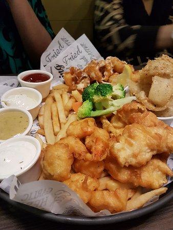 Delicious Fish Platter!