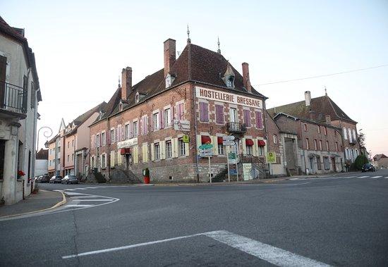 Vue du village de  Saint-Germain-du-Bois