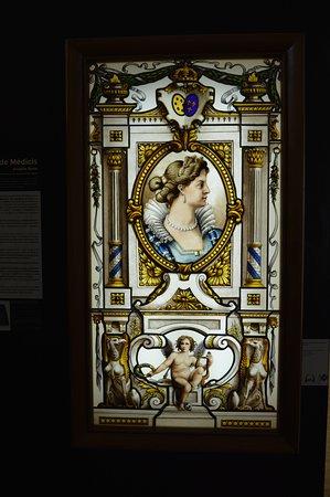 Vitrail Marie de Médicis.