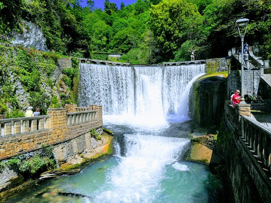 New Athos Waterfall