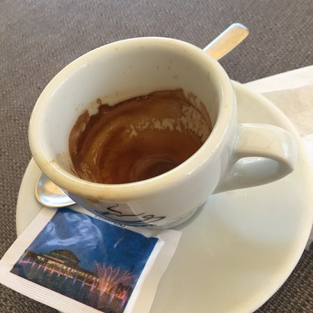 Ordinary place to grab a quick espresso