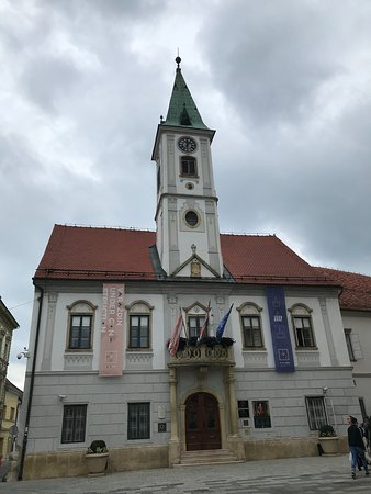 Varazdin, Kroasia: city hall