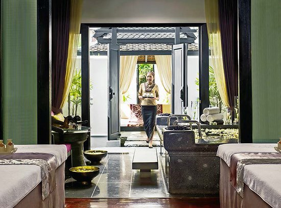 Mai Khao, Thailandia: Mandara Spa Indoor Treatment Room