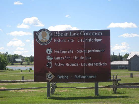 Rexton, Kanada: Bonar Law Common