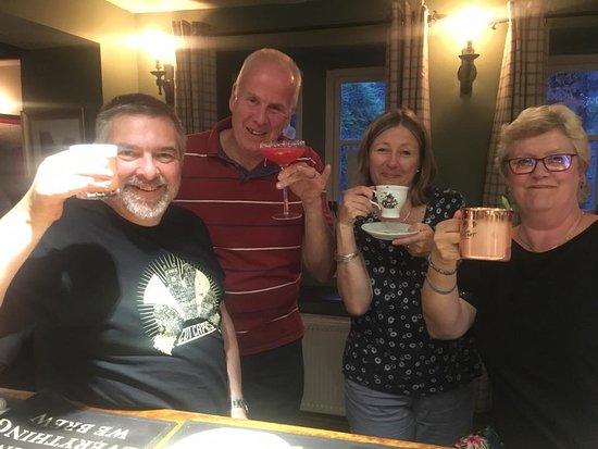 Rode, UK: cocktails