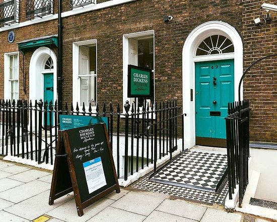 Image result for charles dickens museum london images