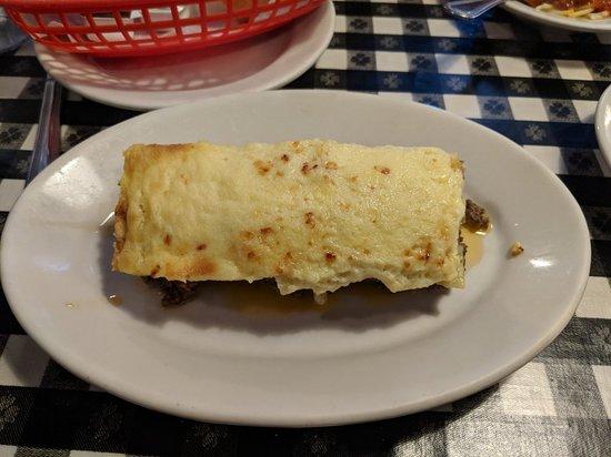 Lexington, MA: Baked Ziti (sauce served on side)