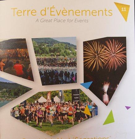 Cublize, France: Le flyer de l'OT du Beaujolais vert de 2018