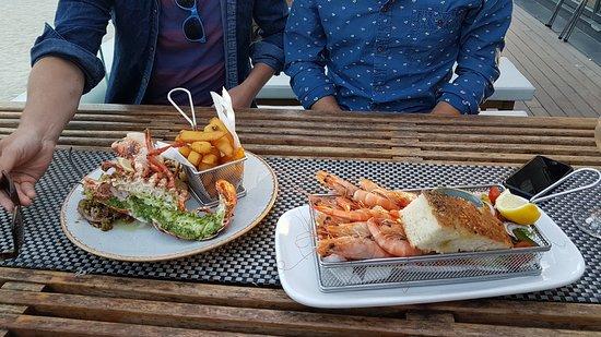 Gylly Beach Cafe: Starters