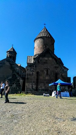 Artashavan, Armenia:  Saghmosavank Monastery -one of the most beautiful places in Armenia