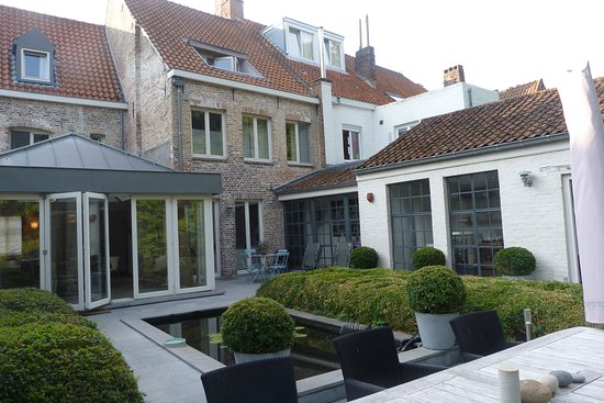Bed & Breakfast Speelmansrei: Veduta della casa dal terrazzino
