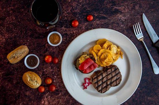 Hobo's Steak House (Not Hobo Cafe): American Rump Steak (approx.240gr)