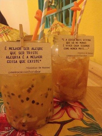 Bebidas Com Frases Lindas изображение Meiroca Coxinharia