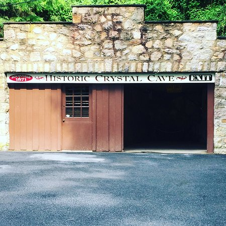 Kutztown, PA: The cave entrance/exit