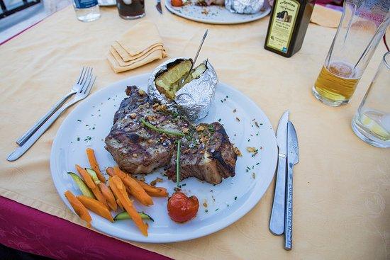Restaurante La Reja: Maten vi bestilte. Foto: Henrik Torjussen