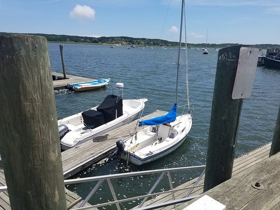 Outer Cape Sailing: Sailboat before we left