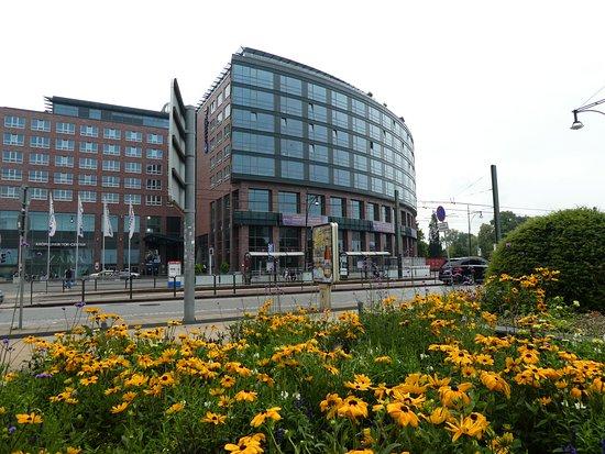 Tolles Hotel mit herrlichem Blick auf den Stadthafen