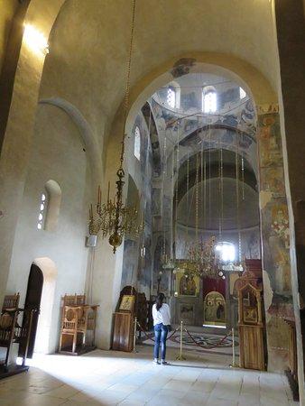 Zica Monastery: church interior