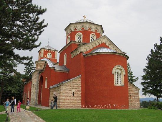 Zica Monastery: church