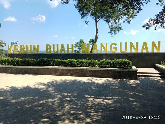Gerbang Kebun buah mangunan