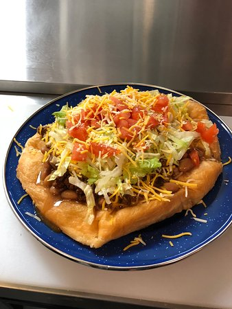 Hulbert, OK: Indian taco