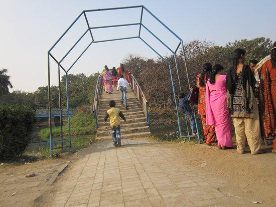 Bokaro Steel City, India: a bridge within the City Park