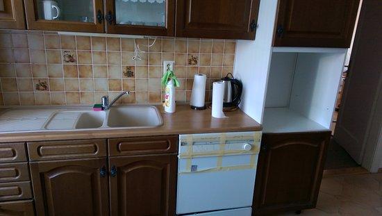Abgewohnte Küche Spülmaschine Wird Als Ausstattungsmerkmal