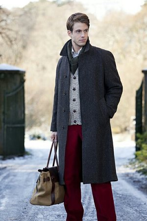 "Grosebay, UK: The Marlborough Harris Tweed Topcoat with "" Raglan "" sleeves . Exclusive Harris Tweed from The H"