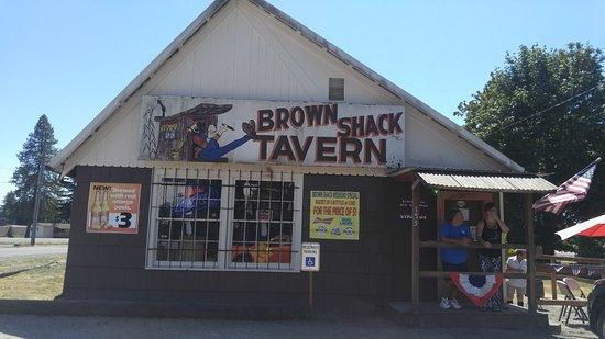 Salkum, WA: The shack