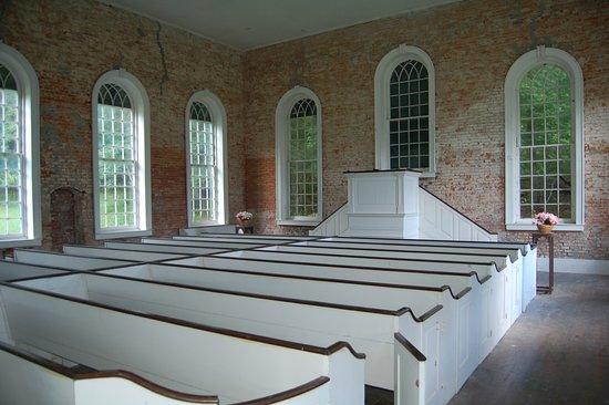 Rodney Ghost Town: Inside Rodney Presbyterian Church
