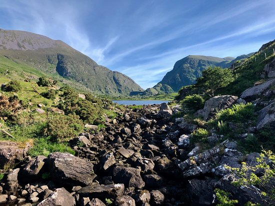 Gap of Dunloe just minutes from the Larkinley Lodge