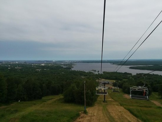 Spirit Mountain: View From The Chair Lift.