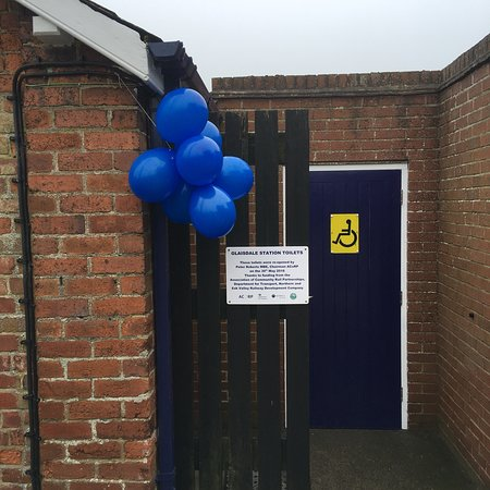 Glaisdale Station toilets re-opened May 2018 and maintained by volunteers, free to use, clean an