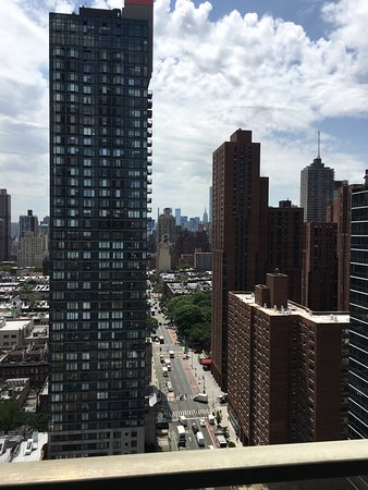 The Marmara Manhattan: View from our 28th floor balcony looking down 2nd Avenue.