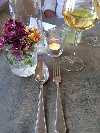 Andrarum, Sweden: Fine dining