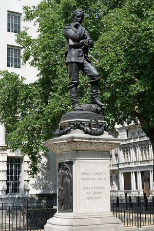 General Charles George Gordon statue