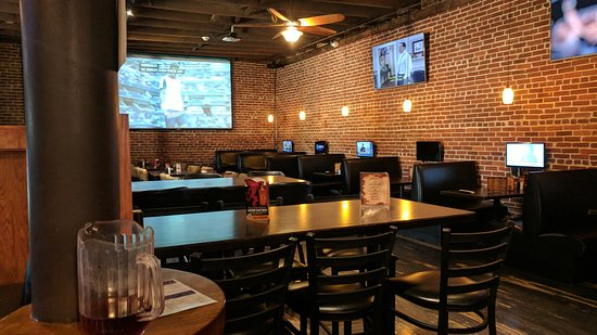 The Brick: Downstairs seating