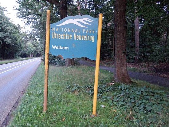 Nationaal Park Utrechtse Heuvelrug: a sign