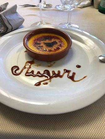 Torrimpietra, Italien: crema catalana personalizzata