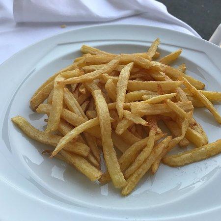 Chez Braccioforte: Patate fresche fritte al momento