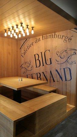 Big Fernand Arcachon: la déco très sympa