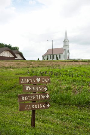 The Manning Hausbarn Heritage Park features a German Hausbarn, Farmstead, Church & Conference Ce