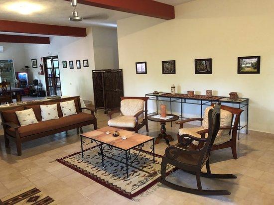 Santa Elena, México: Inside reception