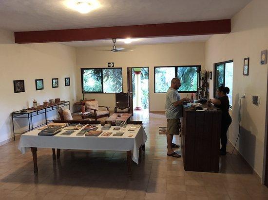 Santa Elena, México: Inside reception 2