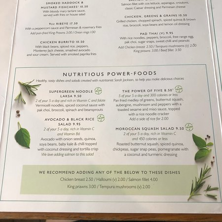 Vegan friendly menu!! - Picture of All Bar One Covent Garden