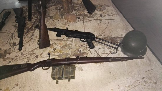 WW2 german weapons - Picture of War Museum, Athens - TripAdvisor
